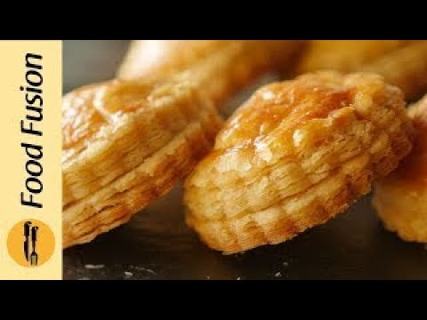 Chicken Patties And Puff Pastry With Ghee Recipe By Food Fusion