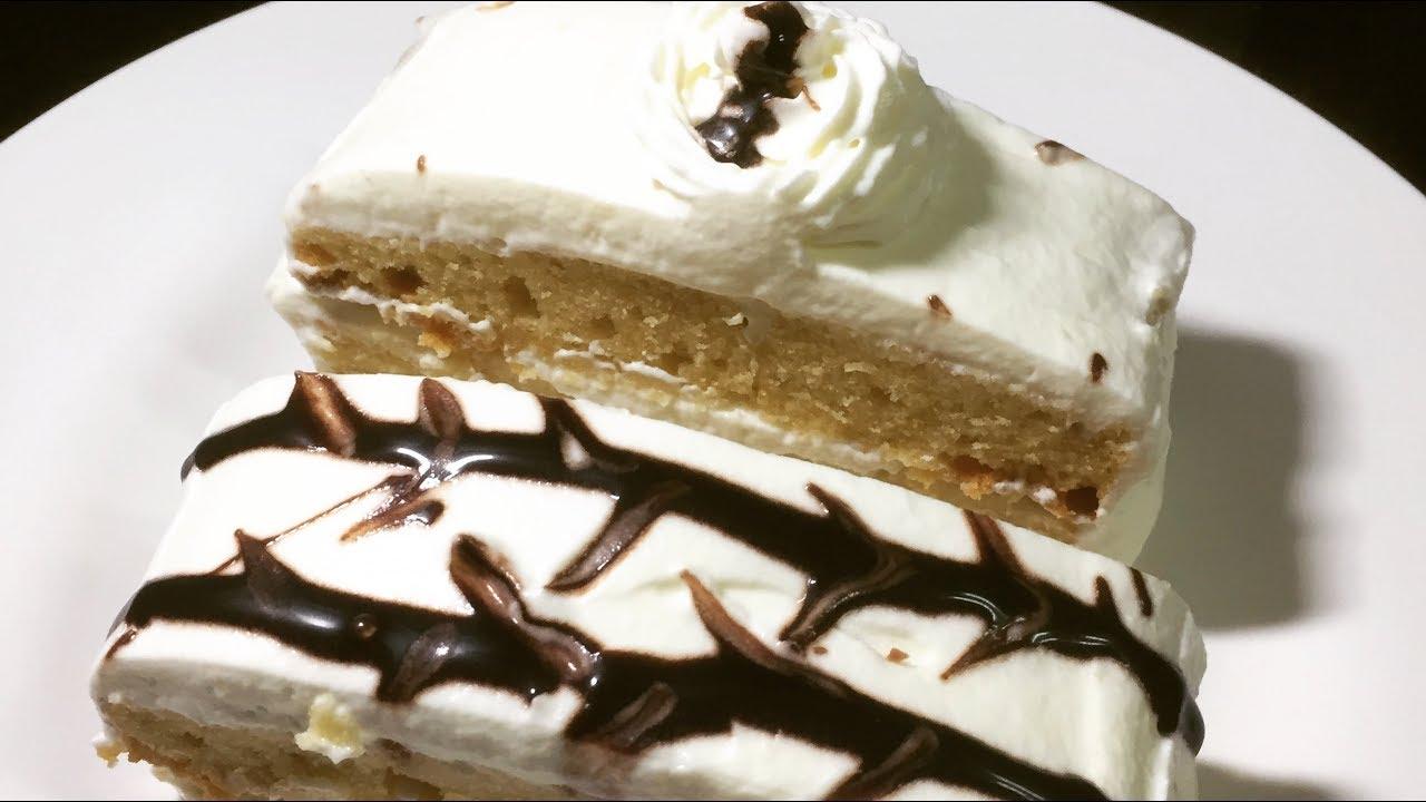 Simple Eggless Vanilla Pastry Cake Recipe Recipes Videos