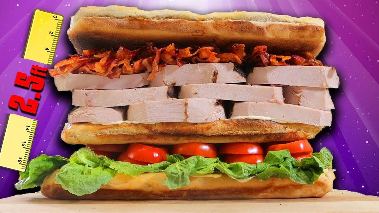 World Record Club Sandwich – Epic Meal Time